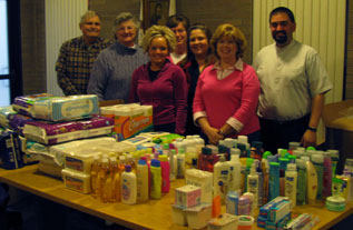 Donations to Mercy Center