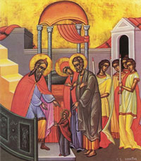 Feast of the Entrance of the Theotokos Icon